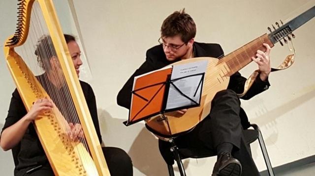 Ensemble Mitis – Duo harpe et luth/théorbe/guitare baroque