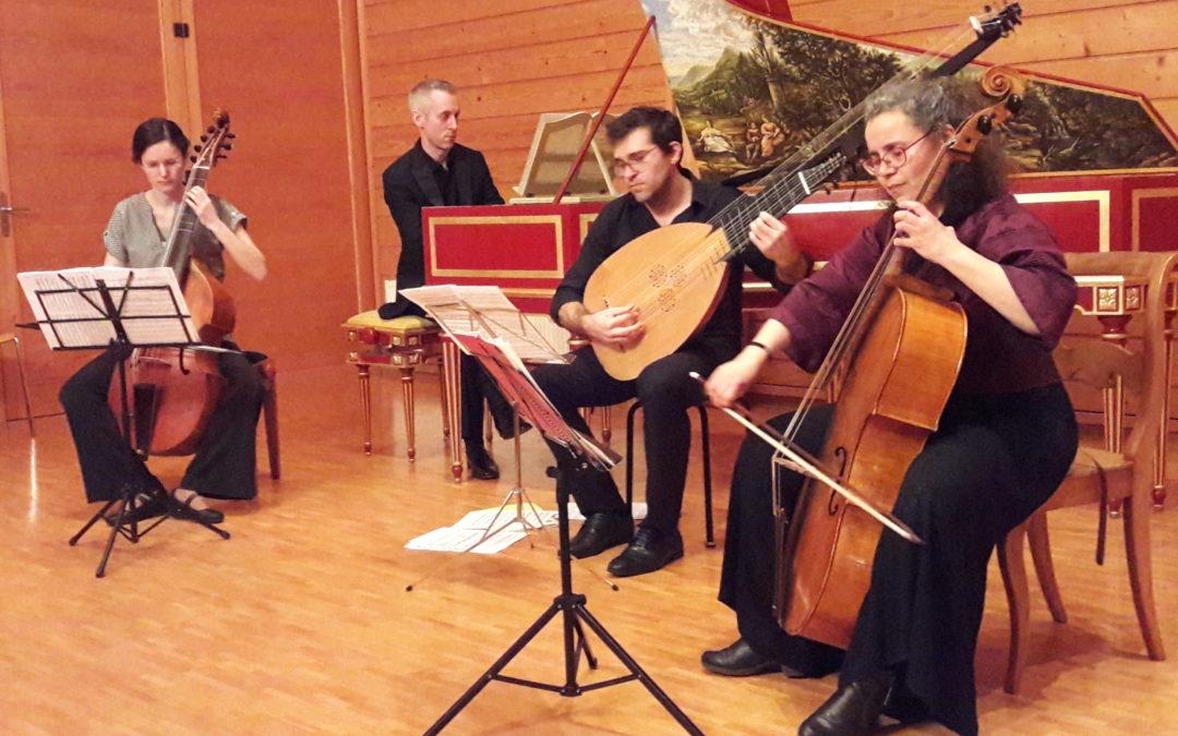 Concert d'été – Ensemble Correspondances